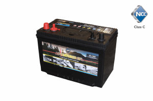 Leoch SFL-115DT -  12v 115Amp Electric Fence Battery with Dual Terminals